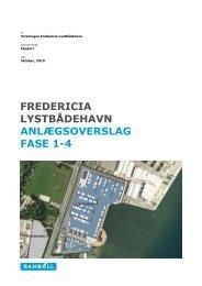 Notat med anlægsoverslag på fase 1-4 dateret 2010 ... - fflfredericia.dk