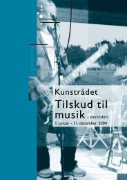 Tilskud til - Kunst.dk