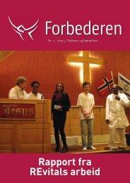 Forbederen 01-12.indd - Bønnetjenesten for Norge