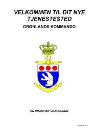 velkommen til dit nye tjenestested grønlands kommando en praktisk ...