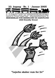 33. årgang · Nr. 1 · Januar 2005 - lundens.net