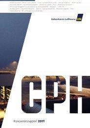 Koncernårsrapport 2011 - Københavns Lufthavne