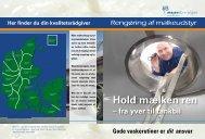 Vaskepjece I - Rengøring af malkeudstyr - LandbrugsInfo