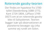Roterende gassky-teorien