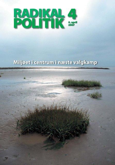 RADIKAL POLITIK 4-2007.indd - Radikale Venstre