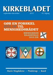 Valg til det nye menighedsråd - Marie Magdalene Kirke