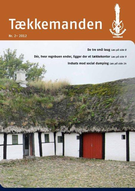 Tækkemanden 2/2012 - Dansk Tækkemandslaug