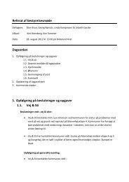 Bestyrelsesmøde 28. august 2012 - Grundejerforeningen Højene