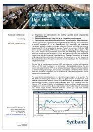 Emerging Markets Nyt - 20 april 2012 - Sydinvest