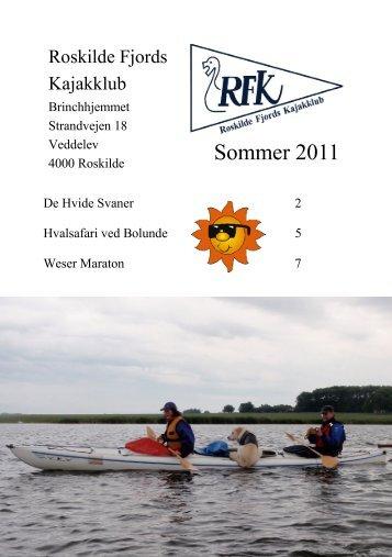 Sommer 2011 - Roskilde Kajakklub
