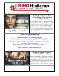 Læs nyhedsbrevet 3. juni 2013 - Kino Hjallerup