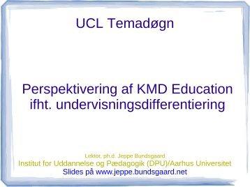 Perspektivering af KMD - Jeppe Bundsgaard - bundsgaard.net