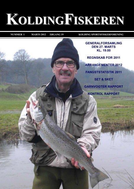 Medlemsblad marts 2012 - Kolding Sportsfiskerforening