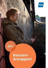 TDC Koncernårsrapport 2011(4MB) - TDC Årsrapport 2011
