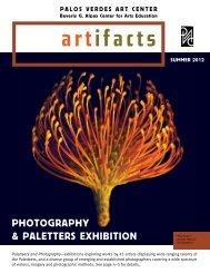 photoGraphy & paletters exhiBition - Palos Verdes Art Center