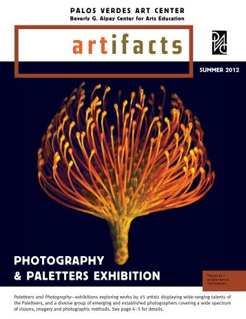 photoGraphy & paletters exhiBition - Palos Verdes Art Center