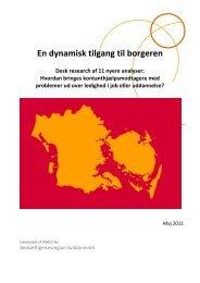 En dynamisk tilgang til borgeren - BR Syddanmark