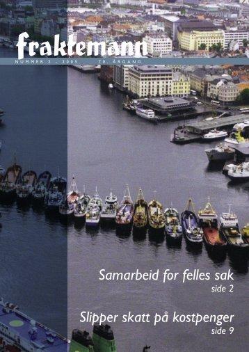 Last ned Fraktemann nr. 2, 2005 - Fraktefartøyenes Rederiforening