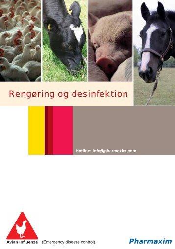 Rengøring og desinfektion - start