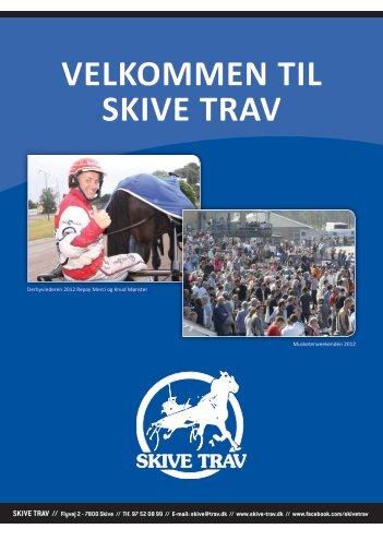 Velkomstbrochure Hest & Rytter.pdf - Skive Trav