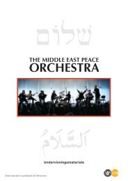 historien bag... the middle east peace orchestra - DR