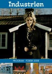 Det trykte program - Forår 2008