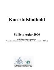 Kørestolsfodbold - Kolding Handicap Idræt
