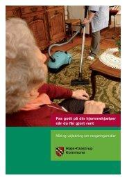 Pas godt på din hjemmehjælper - Høje-Taastrup Kommune