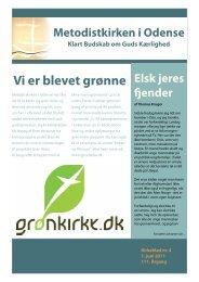 Kirkeblad 2011, nr 4 - Metodistkirken i Odense