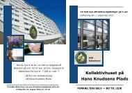 Kollektivhuset på Hans Knudsens Plads - Boligkontoret Danmark