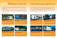 Sådan kører campingvognene