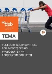 Veileder i internkontroll for importører og produsenter aV