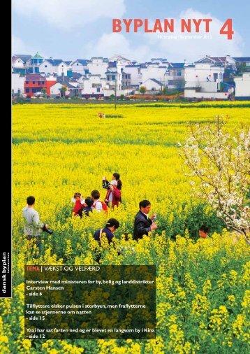 Læs nyeste nummer af Byplan Nyt - Dansk Byplanlaboratorium