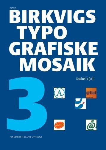Birkvigs typografiske mosaik
