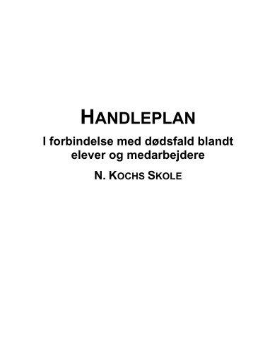 HANDLEPLAN - N. Kochs Skole
