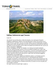 Cykling i Italienernes eget Toscana - Politiken Plus