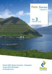 Posta Stamps nr. 3 - februar 2010 - stamps.fo