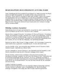 Midtvejsevaluering af projektet 2004(30.59kb) pdf - Dialogos