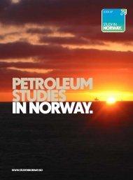 PETROLEUM STUDIES IN NORWAY. - Study in Norway