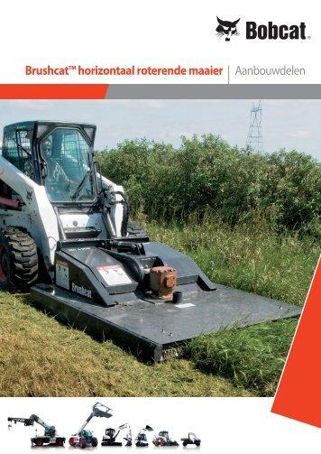 Brushcat™ horizontaal roterende maaier | Aanbouwdelen - Bobcat.eu
