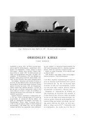 ØRRIDSLEV KIRKE - Nationalmuseet