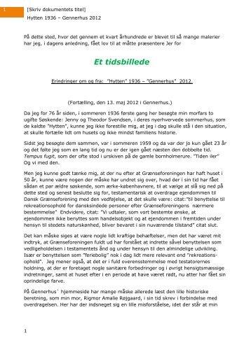 Gennerhus 2012.pdf - Grænseforeningen