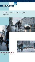 Krydsulykker mellem cykler og biler - Rådet for Sikker Trafik