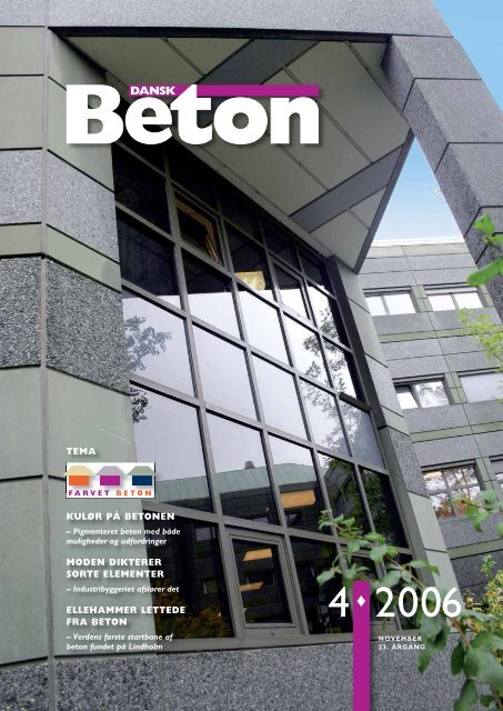 Download blad nr. 4-2006 som pdf - Dansk Beton