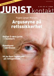 Juristkontakt 3 • 2007