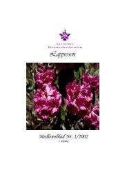 Lapprosen - Den norske Rhododendronforening