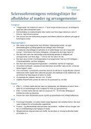 Retningslinjer for afholdelse af møder og arrangementer