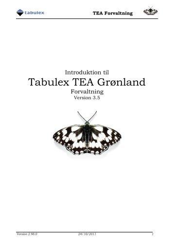 Introduktion til TEA Grønland Forvaltning - Tabulex