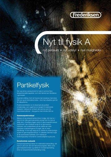 Nyt til fysik A - Frederiksen