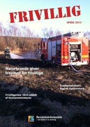 FRIVILLIG April 2013 - Beredskabsforbundet